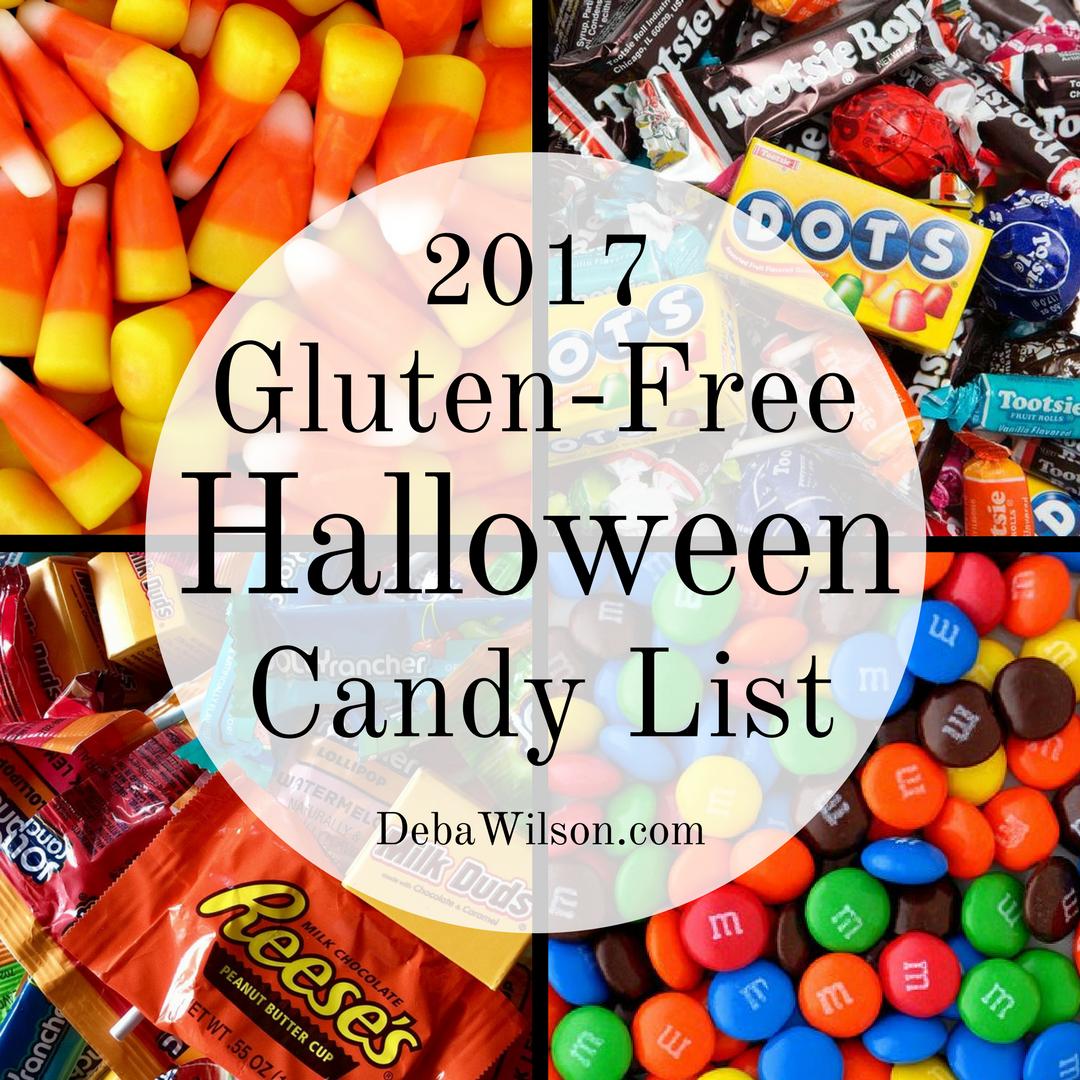 2017 gluten free halloween candy list deba wilson